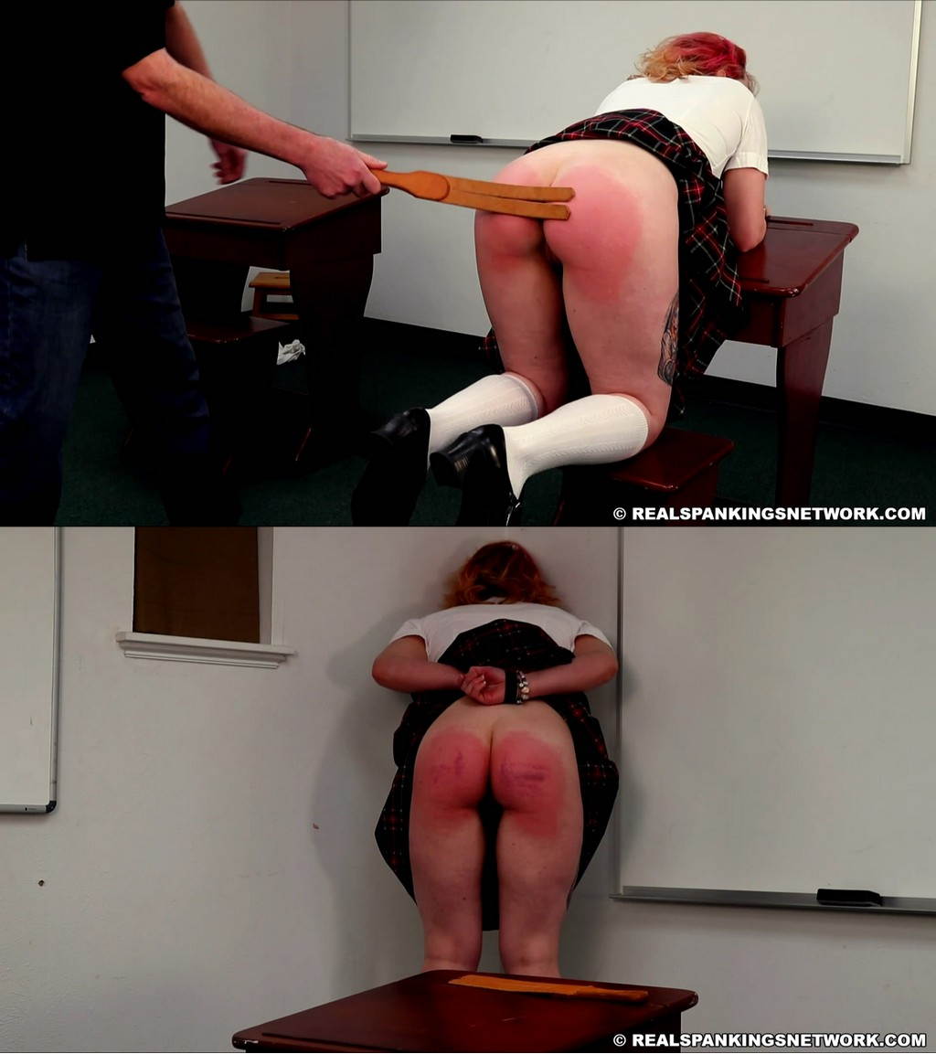 Real Spankings Institute – MP4/Full HD – Michelle S – Michelle: Punished By The Dean For Disrespect (Part 2)