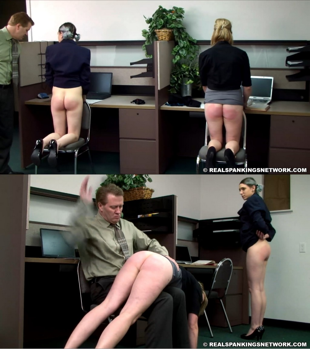 OTK Spankings – RM/HD – Lauren – Roxie And Lauren Slacking At Their Off Campus Jobs (Part 2 Of 2)