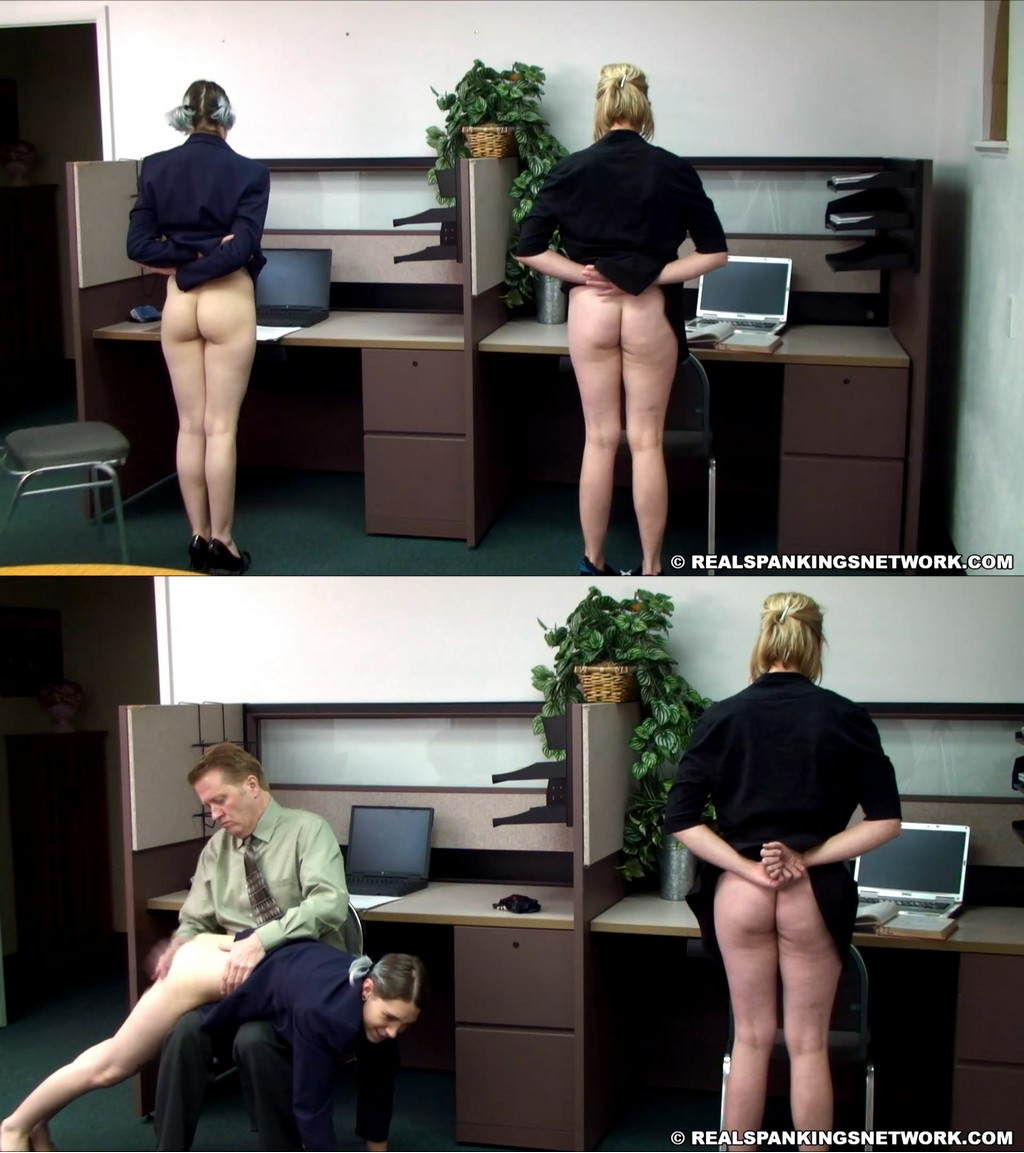 OTK Spankings – RM/Full HD – Roxie – Roxie And Lauren Slacking At Their Off Campus Jobs (Part 1 of 2)