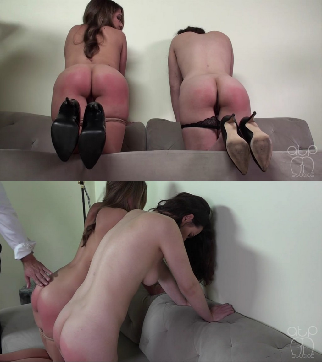 Assume The Position Studios – MP4/HD – Casey Calvert, The Master, Chrissy Marie – Nude Secretaries Paddled Side By Side – Head Or Tail 6 (Release date: Jul 21, 2020)