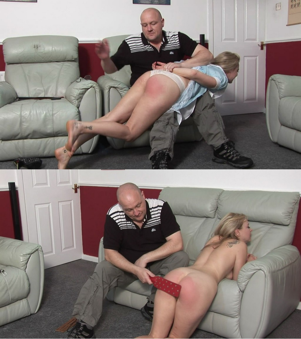 Spanked Cheeks – MP4/HD – Lucy Lauren – Maid For Spanking