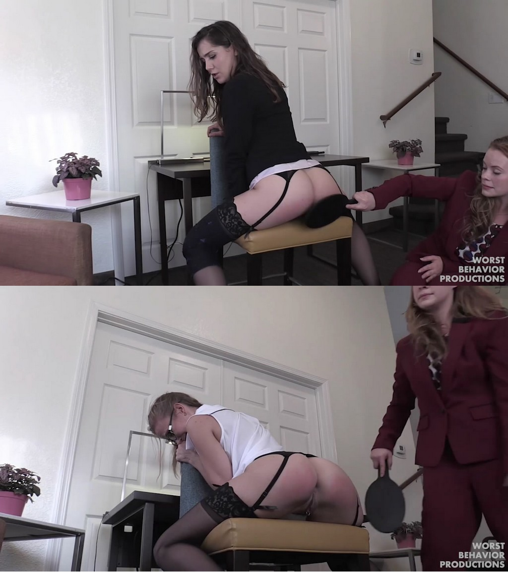 Worst Behavior Productions – MP4/HD – Stevie Rose, Apricot Pitts, Kasey Warner, Norah Nova – OffIce Women Out All-night Part 2 – Chair Punishment  (Release date: Aug 14, 2020)