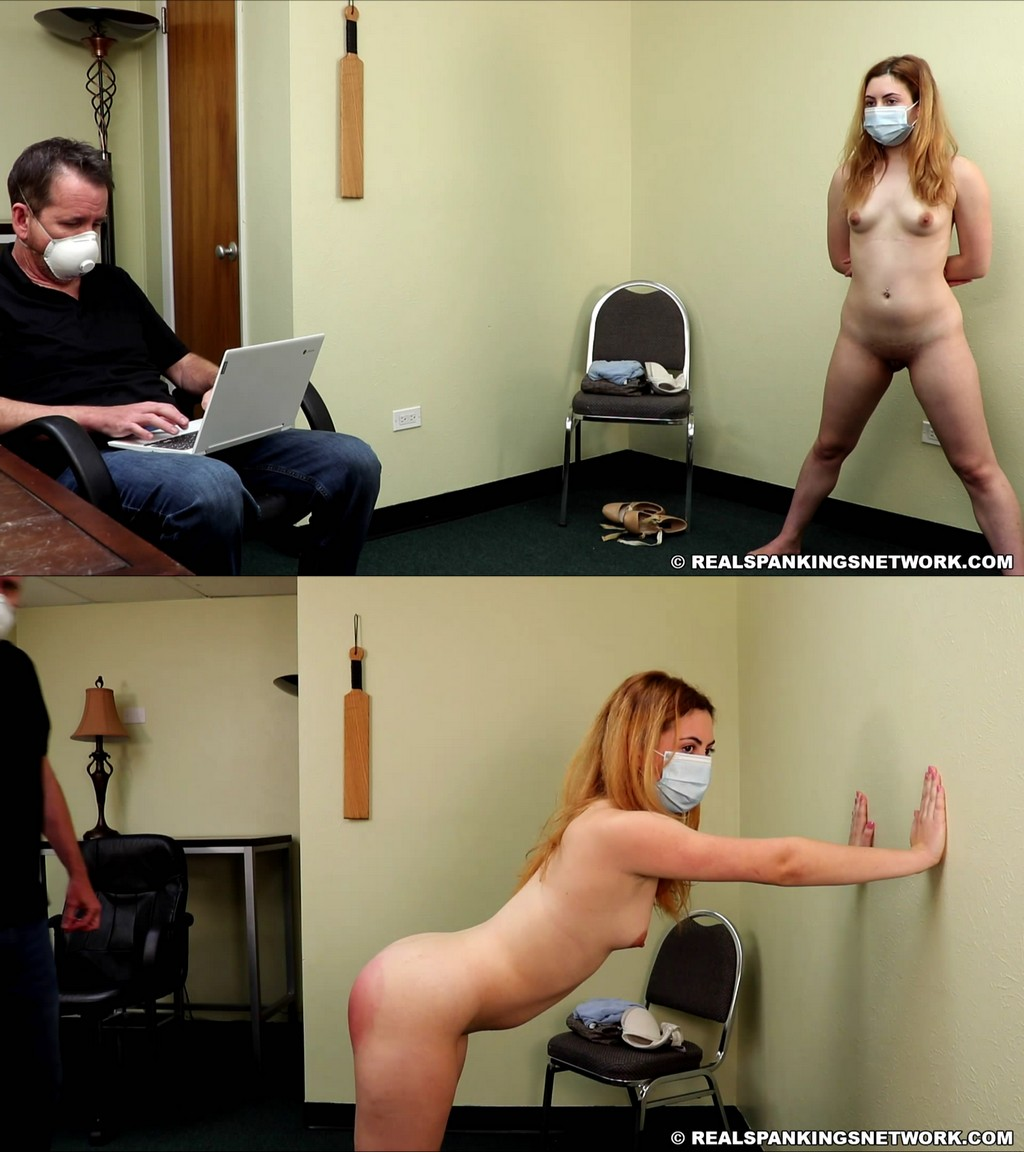 Real Spankings Institute – MP4/Full HD – Nina – Nina's Arrival In The Institute
