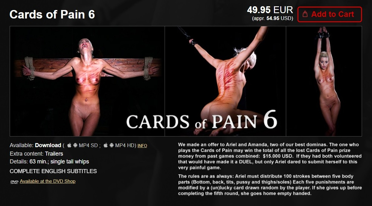 Elite Pain – MP4/HD – Cards of Pain 6