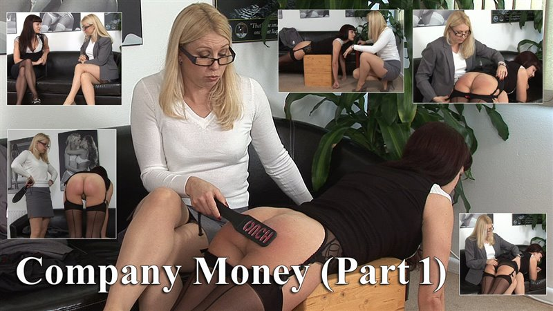 Spanked Cheeks – MP4/HD – Leia-Anne Woods, Miss Lina – Company Money (part 1) Leia's Punishment