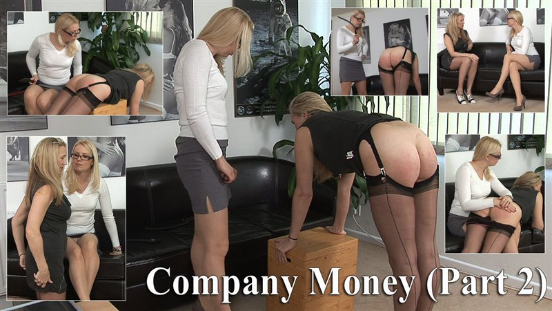 Spanked Cheeks – MP4/HD – Andi Switch, Miss Lina – Company Money (part 2) Andi's Punishment