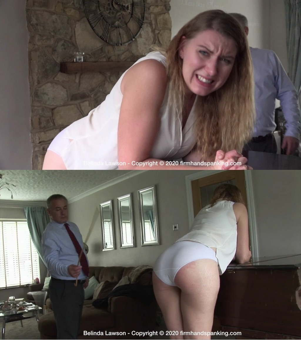 Firm Hand Spanking – MP4/HD – Belinda Lawson – Spa Rules – AE/Belinda Lawson faces a final punishment at an exclusive spa a caning! (Release date: Aug 24, 2020)