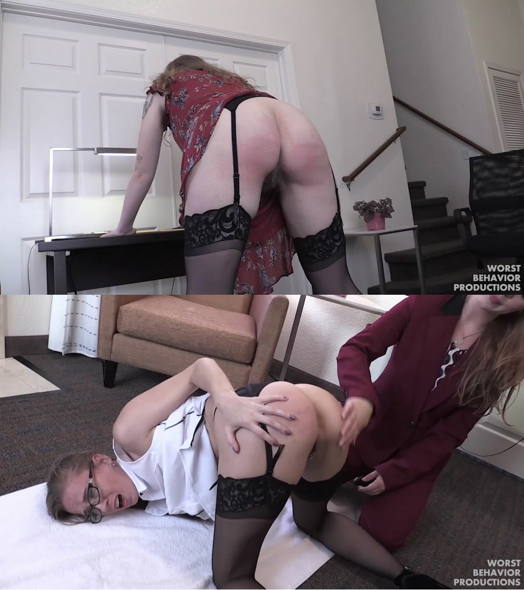 Worst Behavior Productions – MP4/HD – Stevie Rose, Apricot Pitts, Kasey Warner, Norah Nova – Office Girls Out All Night Part Two – Caning And Penalty Swats (Release date: Aug 25, 2020)