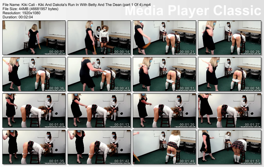 thumbs20200908175815 - Real Spankings Institute – MP4/Full HD – Kiki Cali - Kiki And Dakota's Run With Betty Along With The Dean (part 1 Of 4)