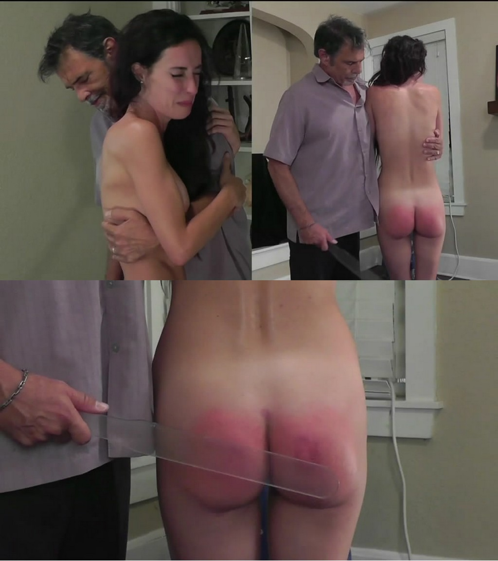 Dallas Spanks Hard – MP4/SD – Hailey – Naughty Naked Needed 7 – Naked Lexan Lickin