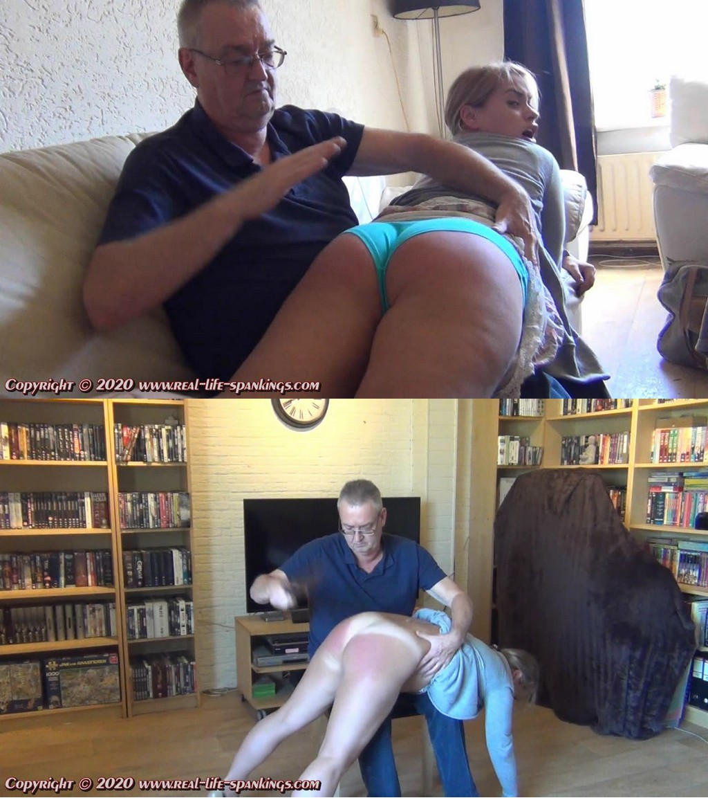 Real Life Spankings – MP4/HD – Olga Cabaeva – Olga Misses Self-control