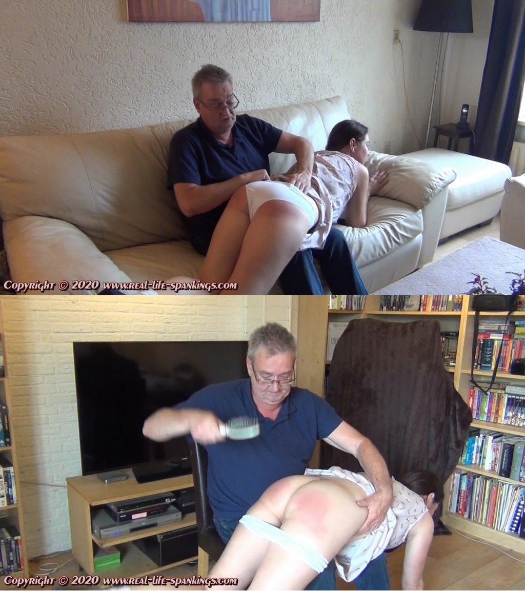 Real Life Spankings – MP4/HD – Anna – Anna Soundly Punished For Corona Infractions