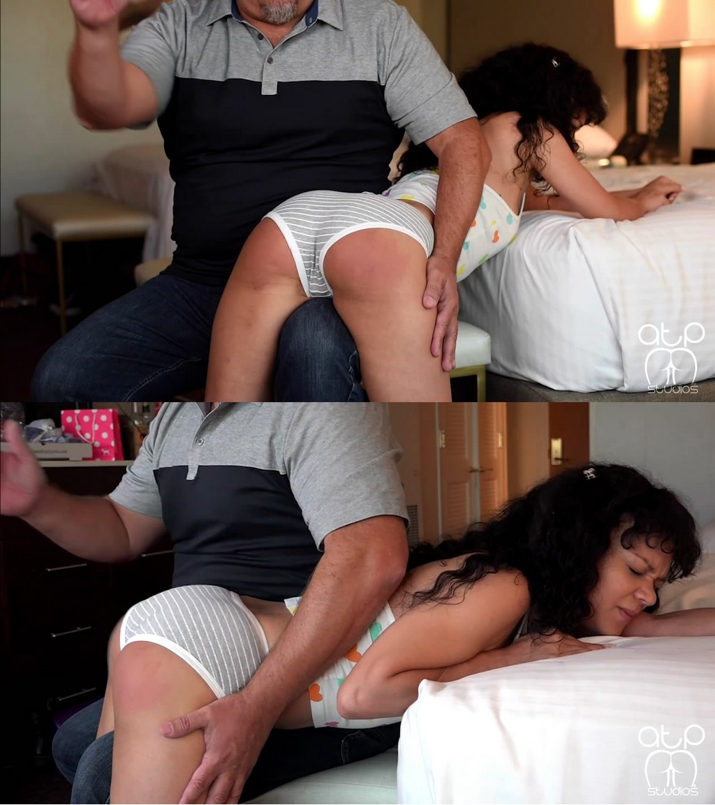 Assume The Position Studios – MP4/HD – The Master, Kiki Cali – Naughty Kiki Wets Her Panties – Wet Otk Spanking (Release date: Oct 13, 2020)