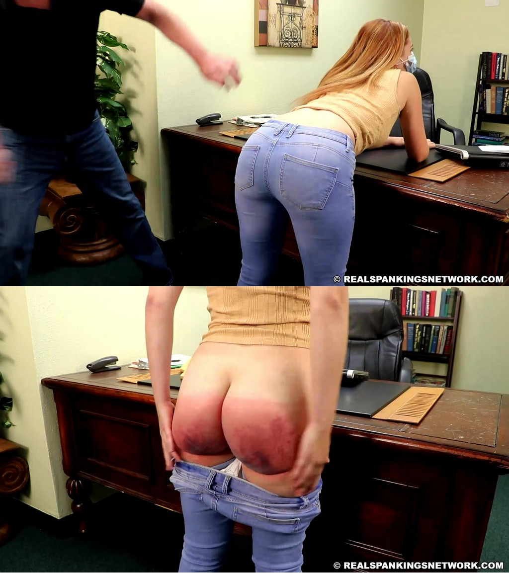Real Spankings – MP4/Full HD – Nina – Nina's Second Phone Infraction