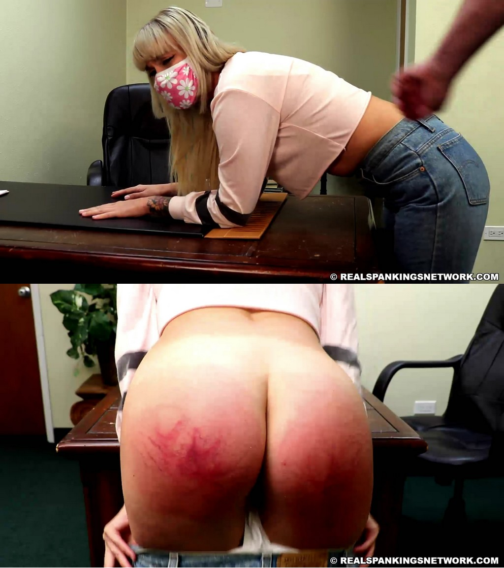 Real Spankings – MP4/Full HD – Cara – Paddled In College, Whoopin' Athome  (Part 1)