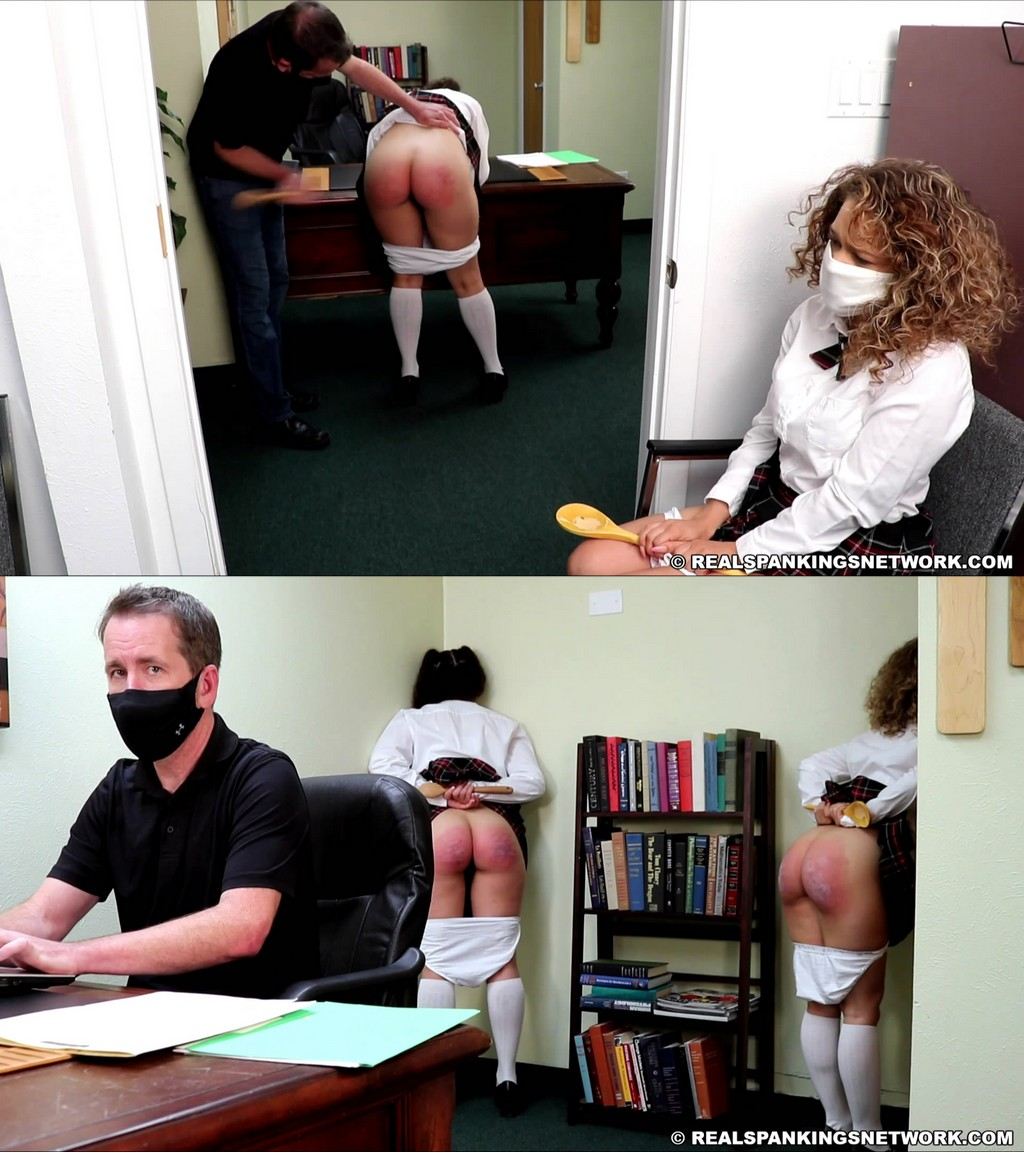 Real Spankings Institute – MP4/Full HD – Dakota Marr – Kiki And Dakota's Wooden Spoon Spanking (part 2 Of 2)