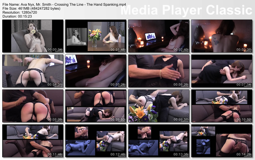 thumbs20201009201642 - Worst Behavior Productions – MP4/HD – Ava Nyx, Mr. Smith - Crossing The Line - The Hand Spanking