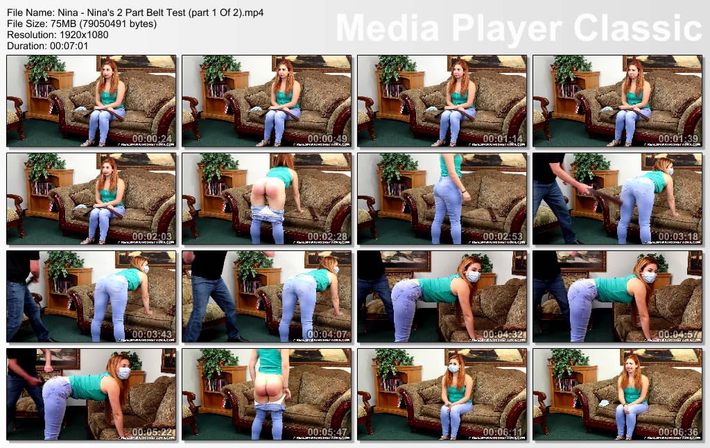 thumbs20201012001316 - Real Spankings – MP4/Full HD – Nina - Nina's Two Portion Belt Examination  (part 1 Of 2)