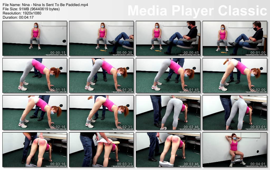 thumbs20201028112639 - Real Spankings Institute – MP4/Full HD – Nina - Nina Is Provided for Be Paddled