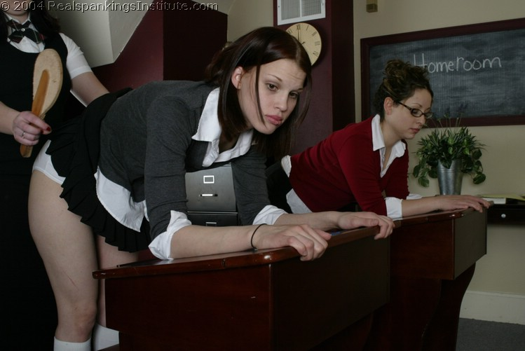 Real Spankings Institute – MP4/SD – Chelsea and Kailee – Spanked in Class (November 04, 2020)