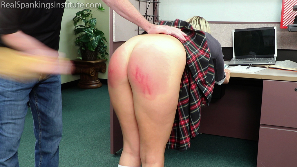 Real Spankings Institute – MP4/FullHD – Cara – Cara's In-School Suspension (Part 2) (November 06, 2020)