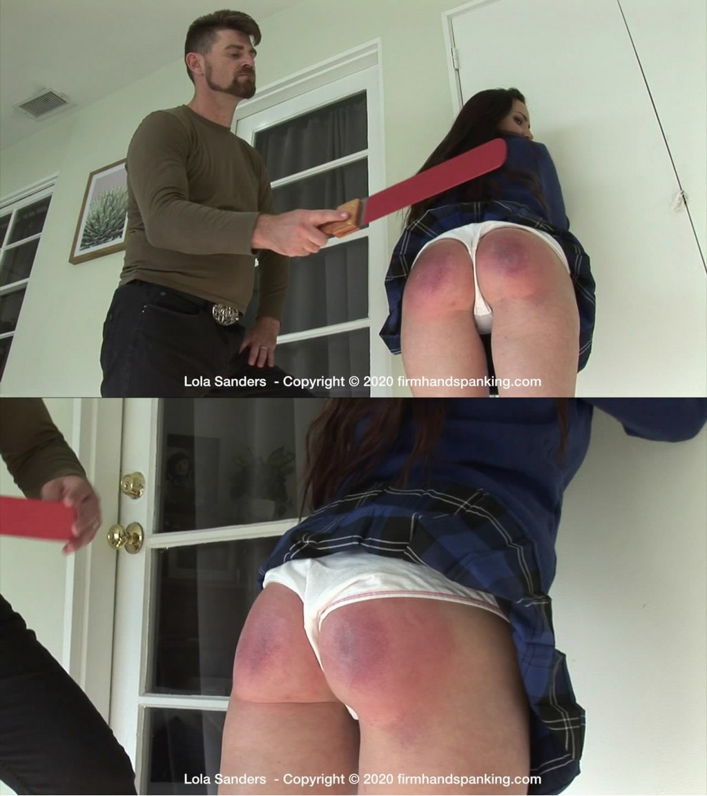 Firm Hand Spanking – MP4/HD – Lola Sanders – New Rules – K/Bullying at College Fees brat Lola Sanders a Solid bare Butt ?  (Release date: Nov. 09, 2020)