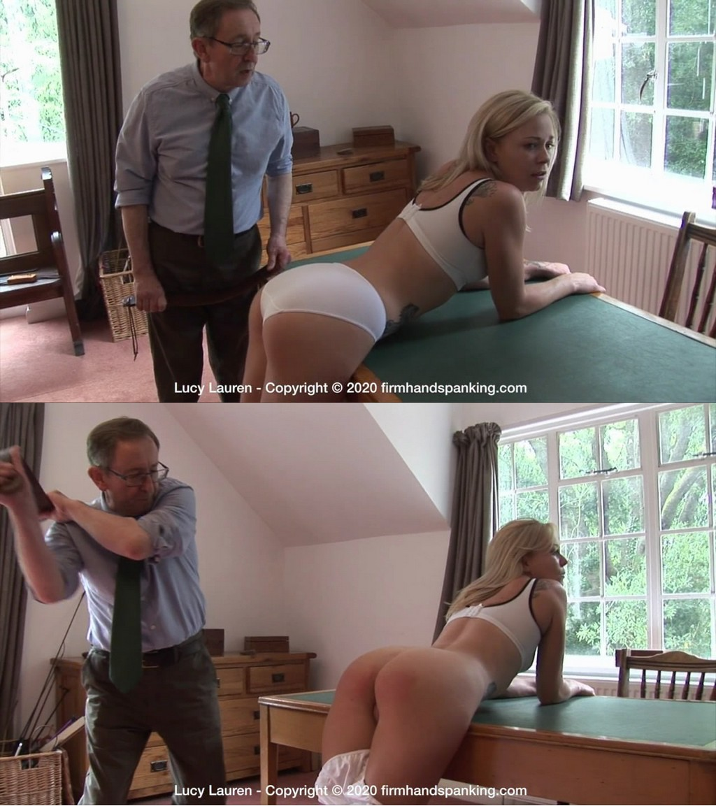 Firm Hand Spanking – MP4/HD – Lucy Lauren – Spanked In Uniform – E/Strapped to the max: Lucy Lauren's schoolgirl fantasy brought to life (Release date: Nov. 04, 2020)
