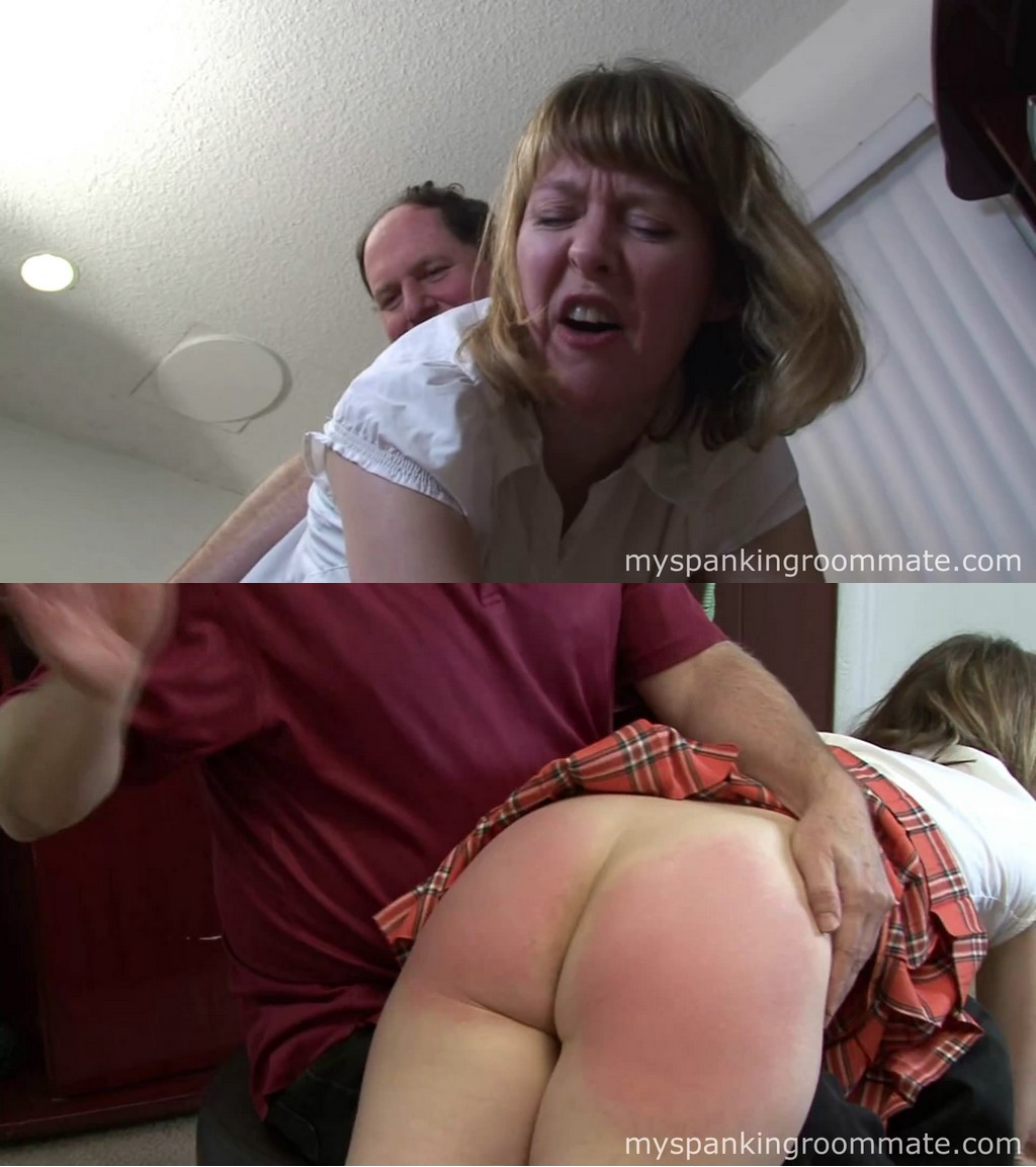 My Spanking Roommate – MP4/Full HD – Clare Fonda – Clare Spanked By Neighbor