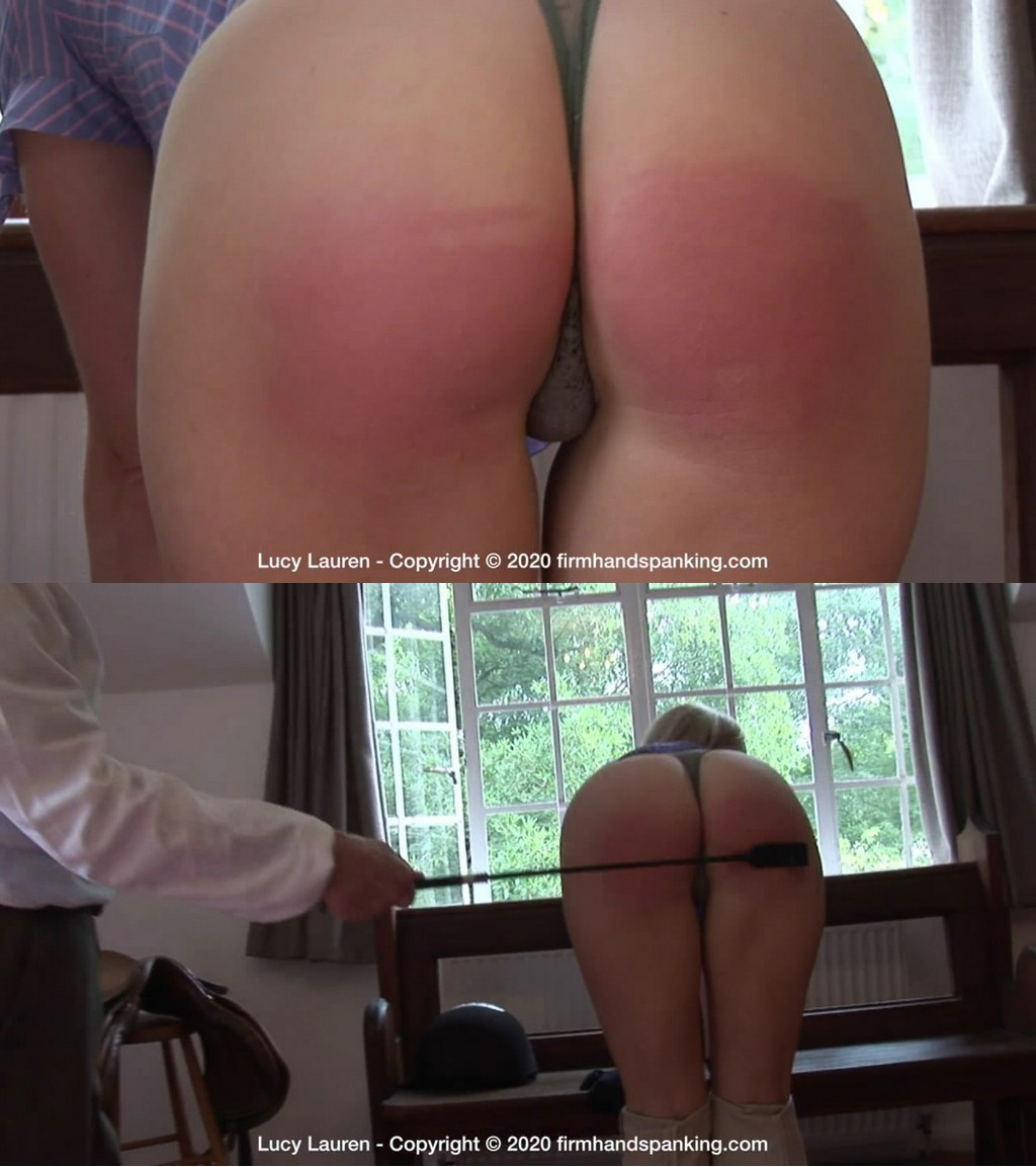 Firm Hand Spanking – MP4/HD – Spanked In Uniform – H/Lucy Lauren is spanked and whipped across her perfect bare bottom (Release date: Nov 25, 2020)
