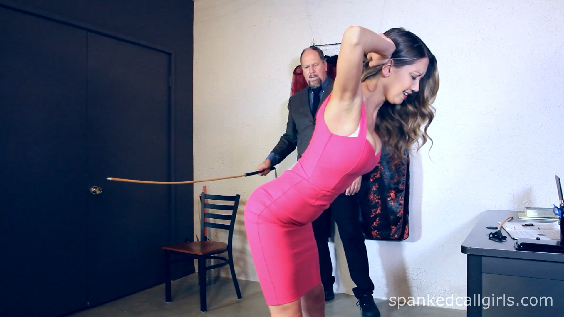Spanked Call Girls – MP4/Full HD – Chrissy Maried Punished By Boss Day 1