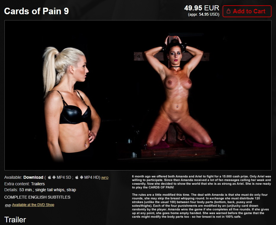 Elite Pain – MP4/HD – Cards of Pain 9
