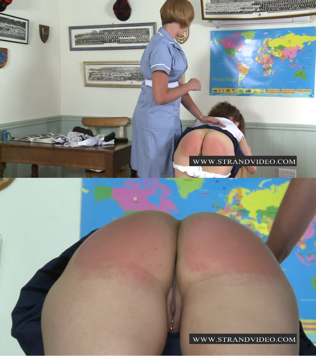 Spanking Sarah – MP4/Full HD – Lucy Manning, Sarah Stern – An Account Out Of S-t Justs Academy – The Matron/Matron Carries a Hands