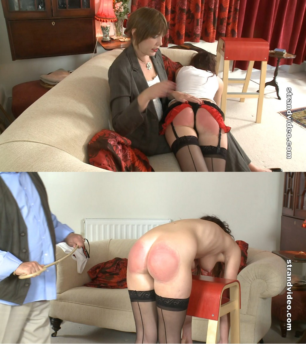 English Spankers – MP4/Full HD –  Shannon James, Sarah Stern, Mr. Stern – The Caning And Audition Of Shannon