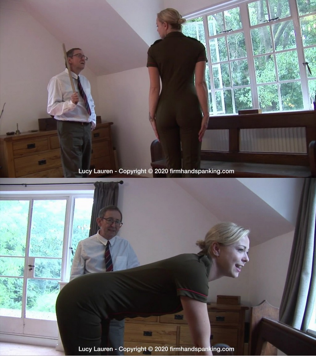 Firm Hand Spanking – MP4/HD – Lucy Lauren – Spanked In Uniform – J (Release date: Dec 2, 2020)