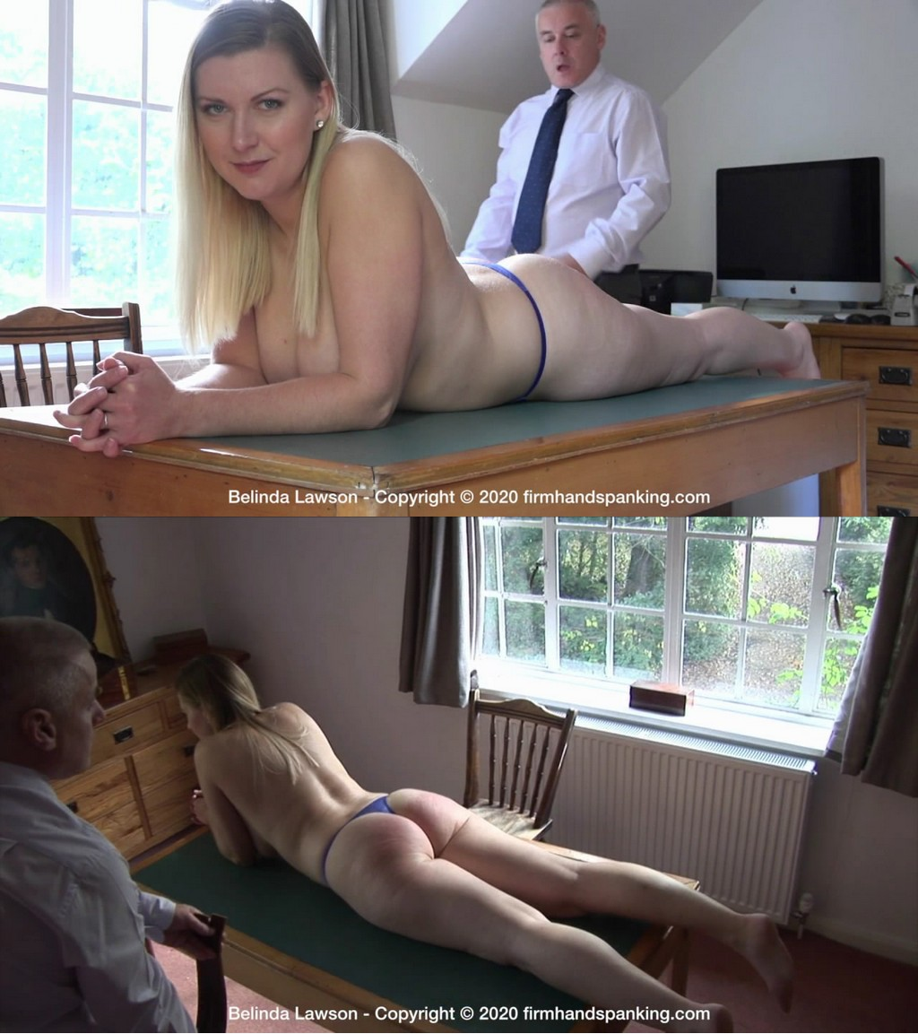 Firm Hand Spanking – MP4/HD – Belinda Lawson – Leather Princess – E/Stunningly topless and bare bottomed, Belinda feels the burn of a leather tawse (Release date: Dec 28, 2020)