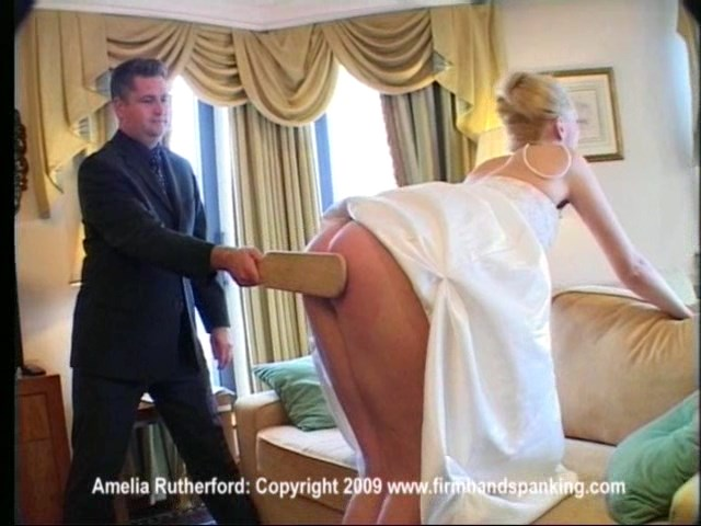 Firm Hand Spanking – MP4/Full HD – Amelia Rutherford – Diva Bodyguard