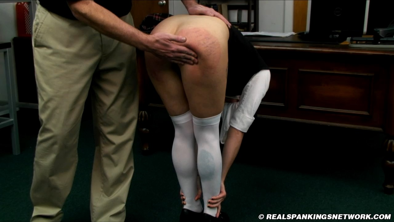 Real Spankings Institute – MP4/HD – Devon – Spanked for No Panties (Part 2 of 2)
