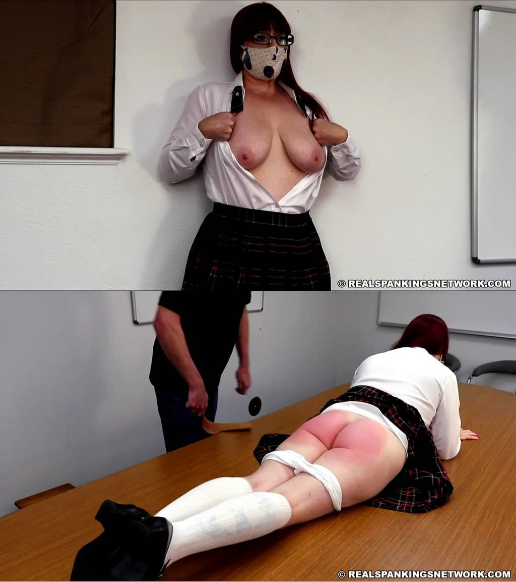 Real Spankings Institute – MP4/HD – Isabella – Isabella Caught Without A Bra (part 1 Of 2)