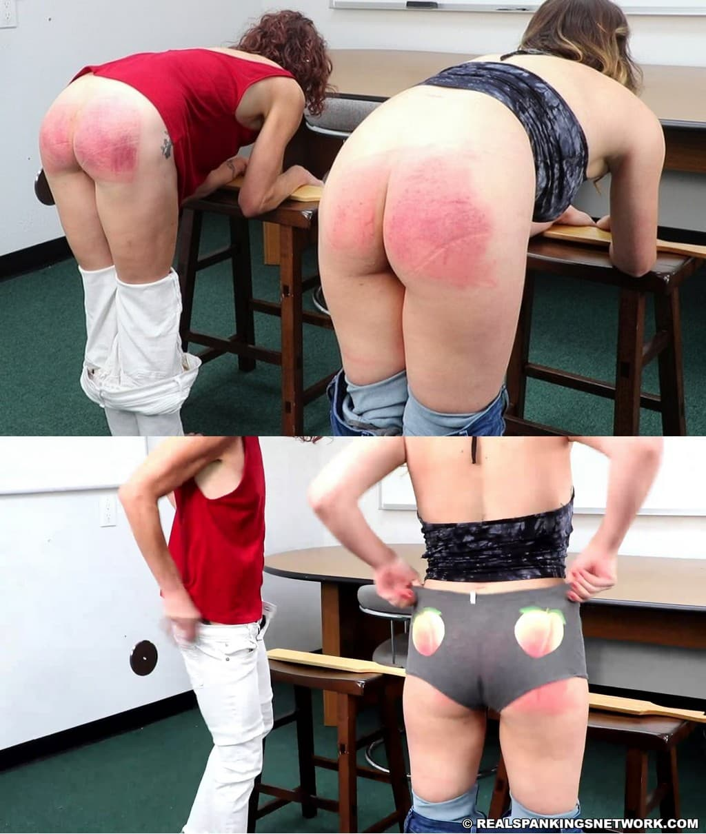Real Spankings – MP4/Full HD – Kaylee – School Swats: Kaylee And Corrie (part 1 Of 2)