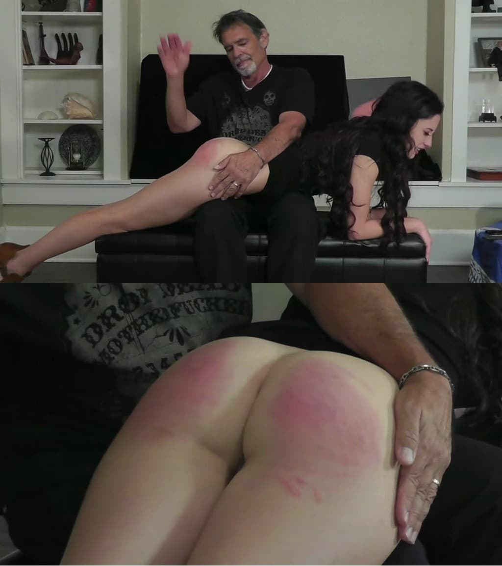 Dallas Spanks Hard – MP4/SD – Hailey – Tearful Consequences 3 – Over My Knee On Welts