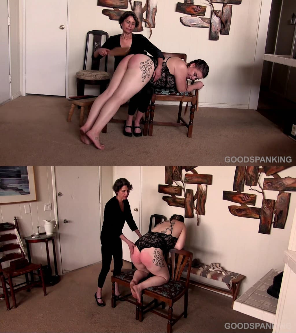 Good Spanking – MP4/Full HD –  Chelsea Pfeiffer, Veda Rose – Dressed For The Spanking – Part – Two (Release date: Jan. 29, 2021)