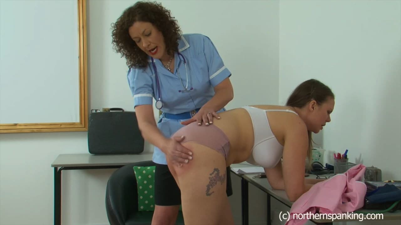 Northern Spanking – MP4/HD – Aleesha Fox, Miss Chris – More Percussive Therapy