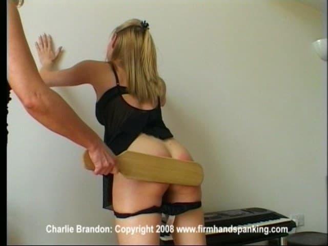 Firm Hand Spanking – WMV/SD – Charlie Brandon – Bare Bottom Paddling
