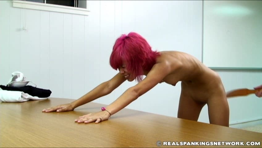 Real Spankings Institute – RM/SD – Kiki – Kiki Punished by The Dean