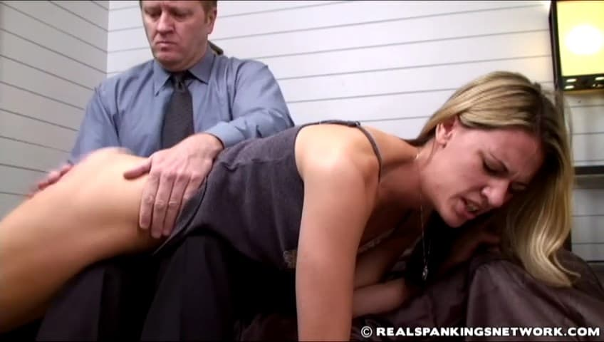 Real Spankings Institute – RM/SD – Monica – Monica Receives a Long Hard Bare Bottom Spanking (Part 1)