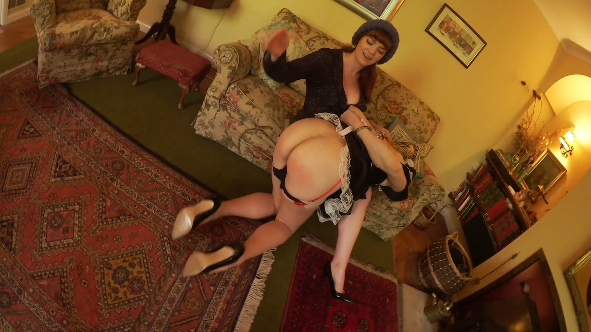 Zoe Page, Ariel Anderssen – Maid and Mistress Hogtied Together