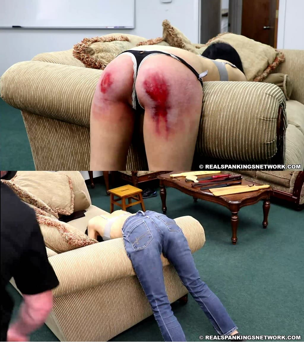 Real Spankings – MP4/Full HD – Real Discipline With Michael Masterson (part 3) – Paddle (Wooden)
