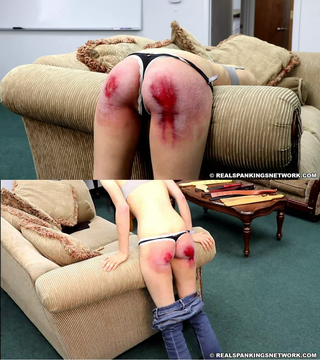 Real Spankings – MP4/Full HD – Sophia – Real Discipline With Michael Masterson (Part 3) – Paddle (Wooden)
