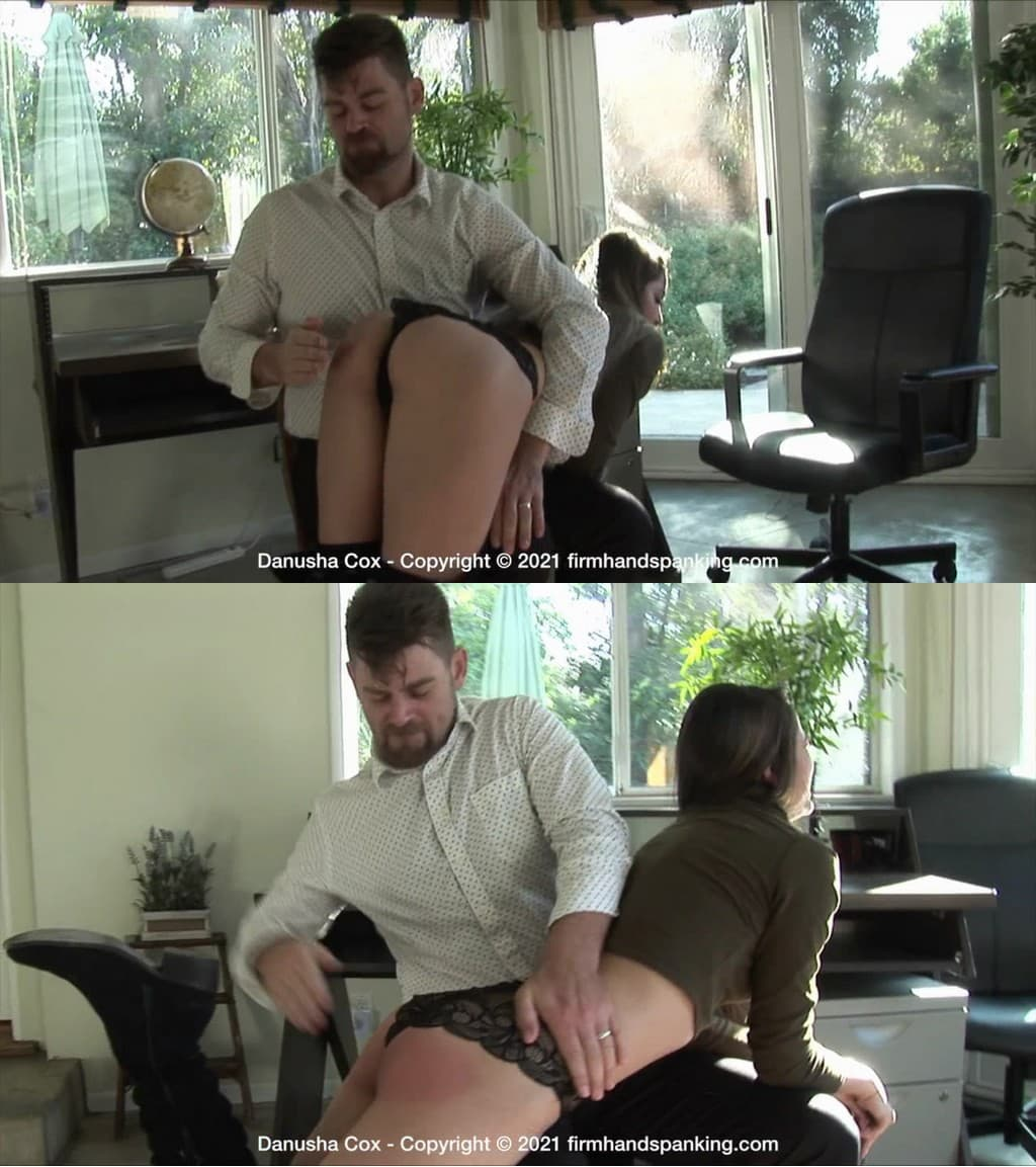 Firm Hand Spanking – MP4/HD – Danusha Cox – Discipline Counselor – A/Stunning Danusha Cox gets her first-ever spanking (Release date: Feb. 05, 2021)