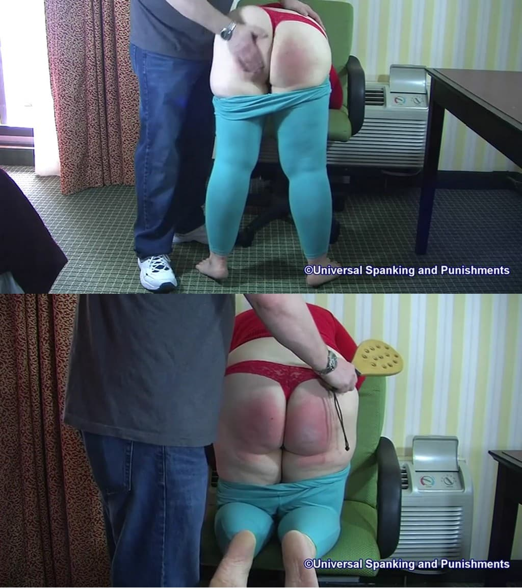 Universal Spankingand Punishments – MP4/Full HD – Sunny – 50 Painful Paddle Swats – Real Punishment Series